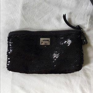Sonia Rykiel black sequins case